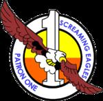 Patrol Squadron 1 (US Navy) insignia 2016.png