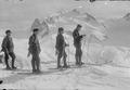 Patrouille auf Skiern auf dem Gornergrat - CH-BAR - 3237133.tif