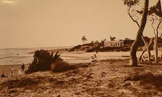 Patterson River - Image: Patterson River mouth early 1900s