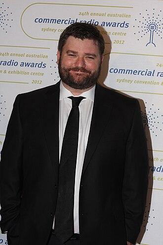Paul Murray (presenter) - Paul Murray at the 2012 Radio Awards in Sydney
