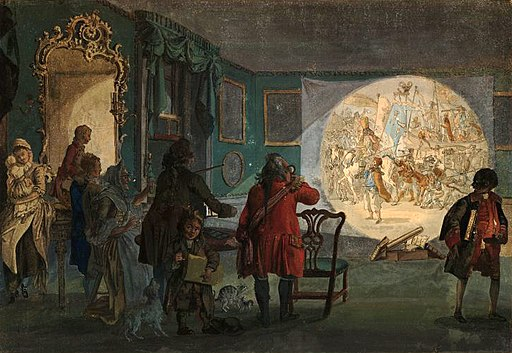 Paul Sandby - The Laterna Magica - WGA20731