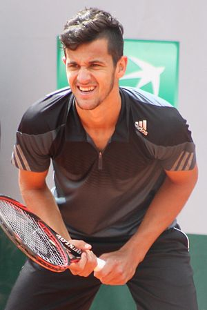 Mate Pavić - Pavić at the 2015 French Open