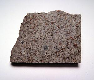 Peace River (meteorite) - Peace River slice