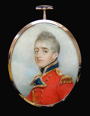 Ponsonby Peacocke - Col. Stephen Peacocke Sr. by George Chinnery, c.1800