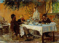 Peder Severin Krøyer - Breakfast in Sora - Google Art Project.jpg