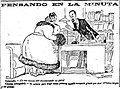 Pensando en la minuta, de Tovar, El Imparcial, 4 de diciembre de 1918.jpg