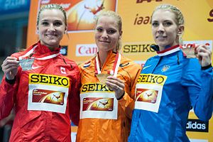 2014 in athletics (track and field) - Pentathlon medallists from the World Indoor Championships