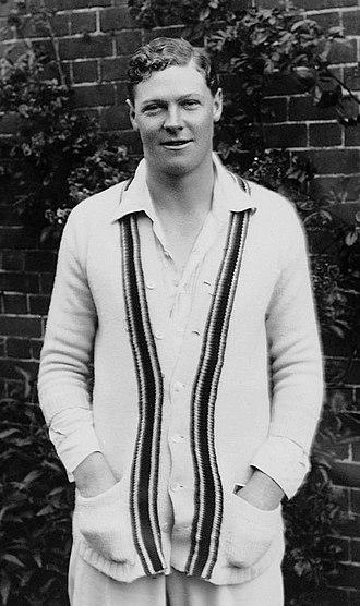 Percy Chapman - Chapman c. 1922