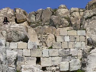 Perperikon archaeological site in Bulgaria.