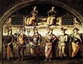 Perugino, Fortitude and Temperance with Six Antique Heroes.jpg