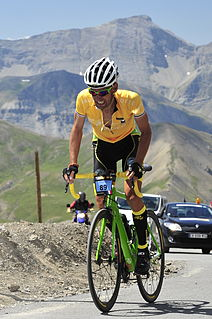 Peter Pouly French cyclist