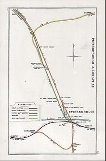 peterborough east railway station wikipedia