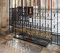 Peterborough Cathedral Catherine of Aaragon Grave, Cambridgeshire, UK - Diliff.jpg