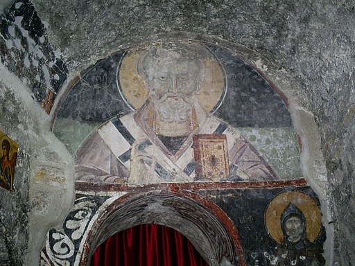 Petrova crkva-freska