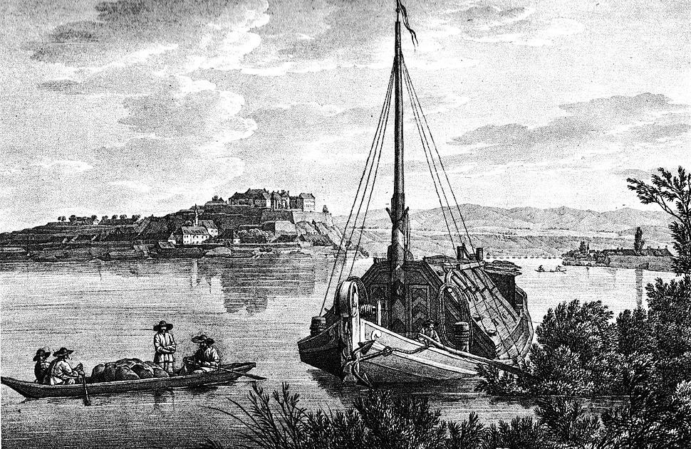 Petrovaradin ship 1821
