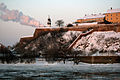 Petrovaradinska tvrđava zimi.jpg