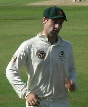 Phillip Hughes - Hughes at Northampton in July 2009