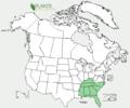 Phlox amoena US-dist-map.png