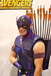 Phoenix Comicon 2011 Hawkeye from the Avengers.jpg
