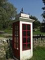 Phone box, Tyneham - geograph.org.uk - 1658563.jpg