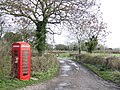 Phonebox by the Bridleway - geograph.org.uk - 314765.jpg