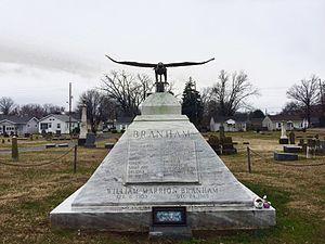 William M. Branham - Grave of William Branham in Jeffersonville, Indiana