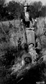 Photograph of Gravely Tractor and Plow Attachment - NARA - 2129600.tif