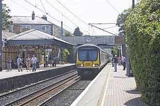 Commuter (Iarnród Éireann) - A 29000 Class DMU (29003) arriving at Malahide