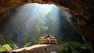 Prachuap Khiri Khan Province - Kuha Karuhas Pavilion, inside Phraya Nakhon Cave, Khao Sam Roi Yot National Park