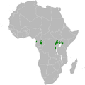 Phylloscopus budongoensis distribution map.png