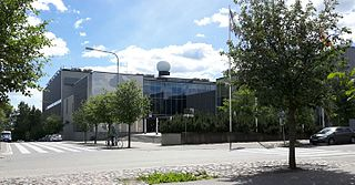 university campus in Helsinki, Finland