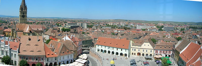 Piata Mica from tower.JPG