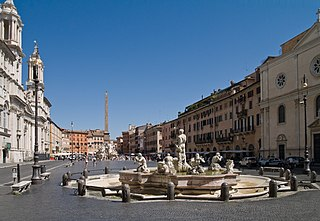 Piazza Navona Piazza in Rome, Italy