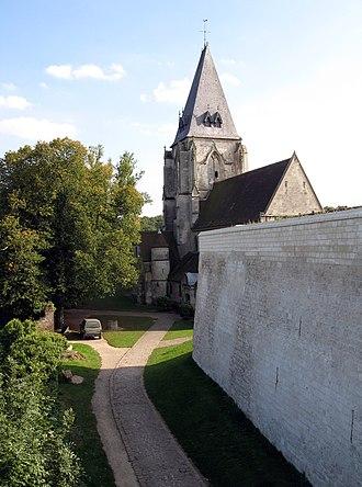 Picquigny - The church