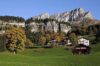Glarus Süd - Hüttenberg and Eggstöcke near Braunwald