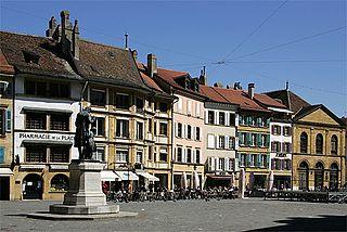 Yverdon-les-Bains Place in Vaud, Switzerland