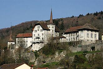 Moudon - Château de Carrouge in Moudon