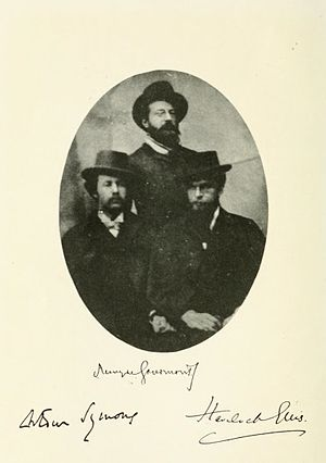 Remy de Gourmont - Gourmont, Arthur Symons and Havelock Ellis.
