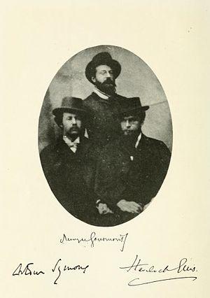 Remy de Gourmont - Gourmont, Arthur Symons and Havelock Ellis.