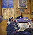 Pierre Bonnard (1867-1947) De gebroeders Bernheim-Jeune - Musée d'Orsay Parijs 22-8-2017 16-21-41.JPG
