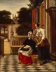 La Maîtresse et la Servante au seau