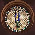 Pietro lorenzetti, vetrata col crocifisso, dal duomo di massa marittima, 01.jpg