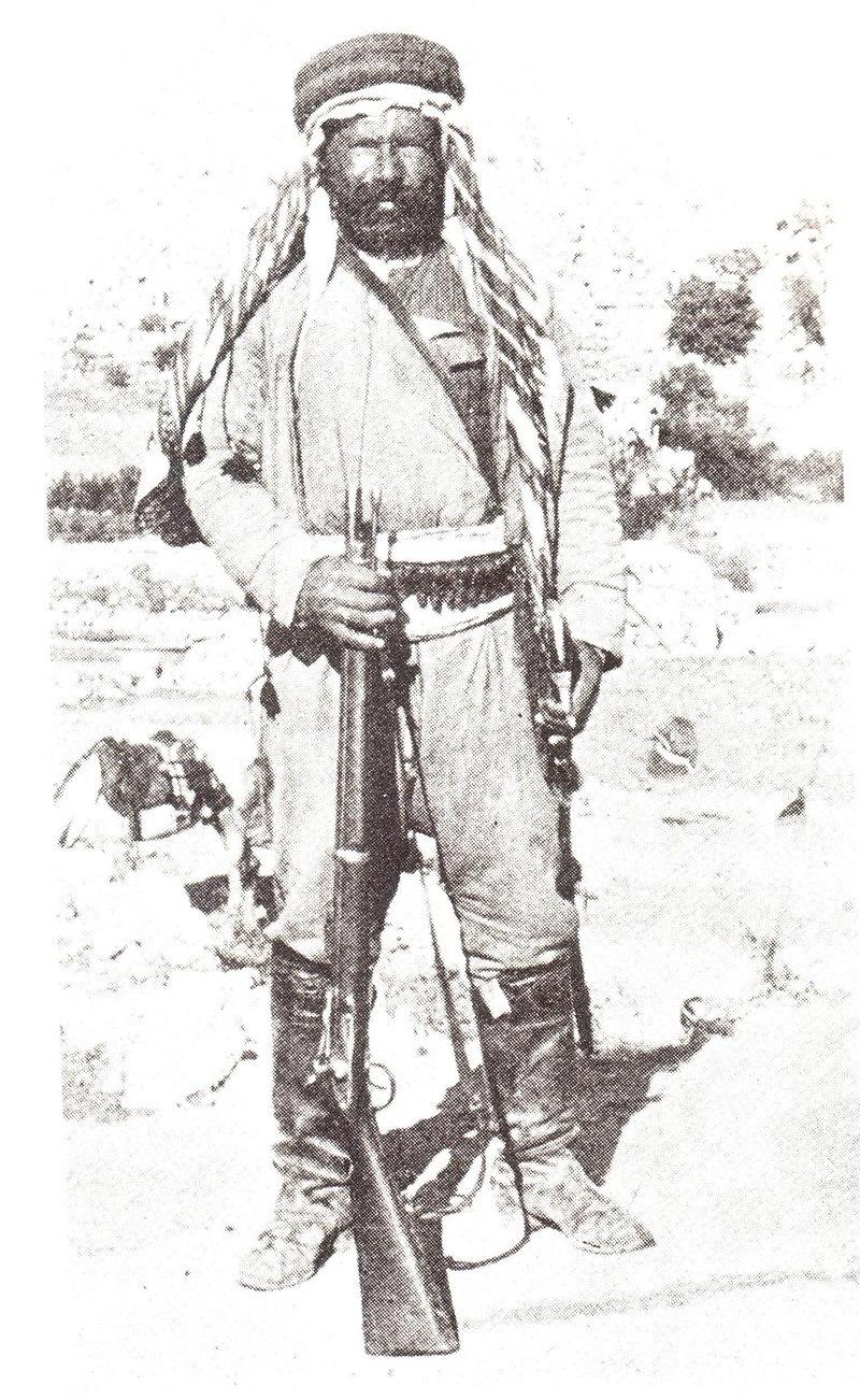 באשי- בזוק - חייל מילואים תורכי