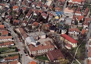 Pilisvörösvár - Aerialphotography of Pilisvörösvár
