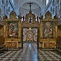 Pinturas en el coro de legos, Cartuja de Granada.jpg