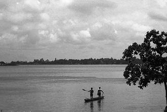 Abidjan - Abidjan boatmen.