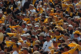 2007 Pittsburgh Steelers season - Steelers home fans in the 2007 season
