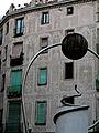 Plaça George Orwell, escultura de Leandre Cristòfol.jpg