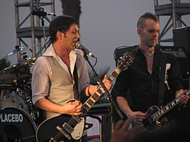 Placebo at Coachella Festival, April 29, 2007.