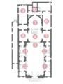Planimetria chiesa S Marco in S Girolamo Vicenza.png